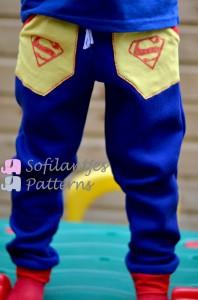 domi superman pants front