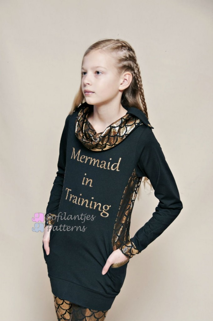 Golden mermaid- Sofilantjes.com