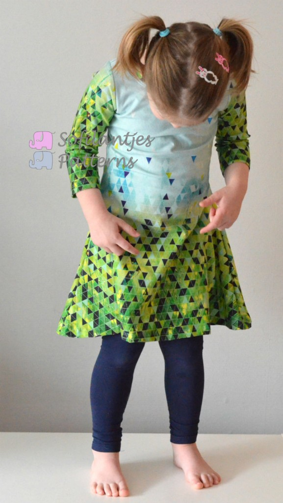Spring Nivalis easter dress-sofilantjes.com.