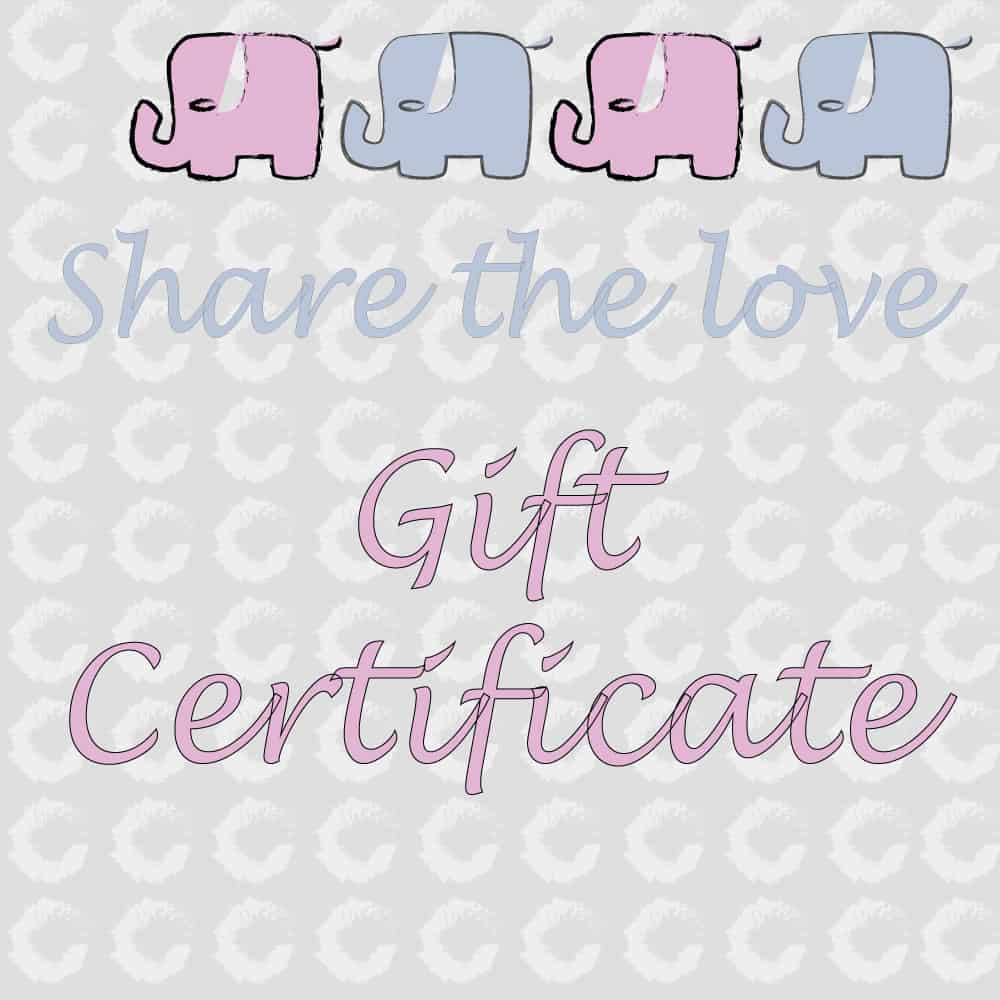 Gift certificate/store credit