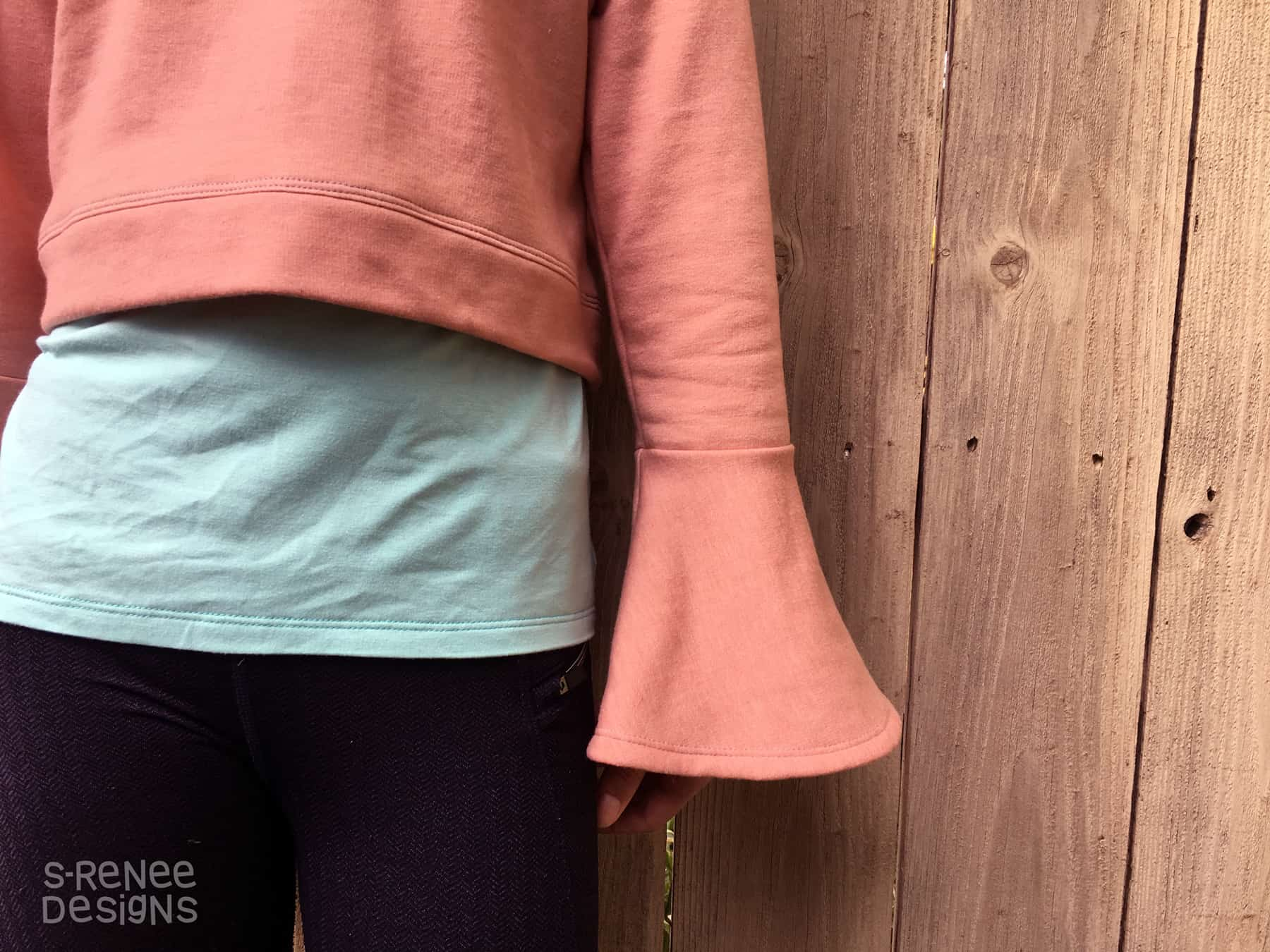 Foliis Bell Sleeve Hack