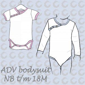 ADV Bodysuit drawings